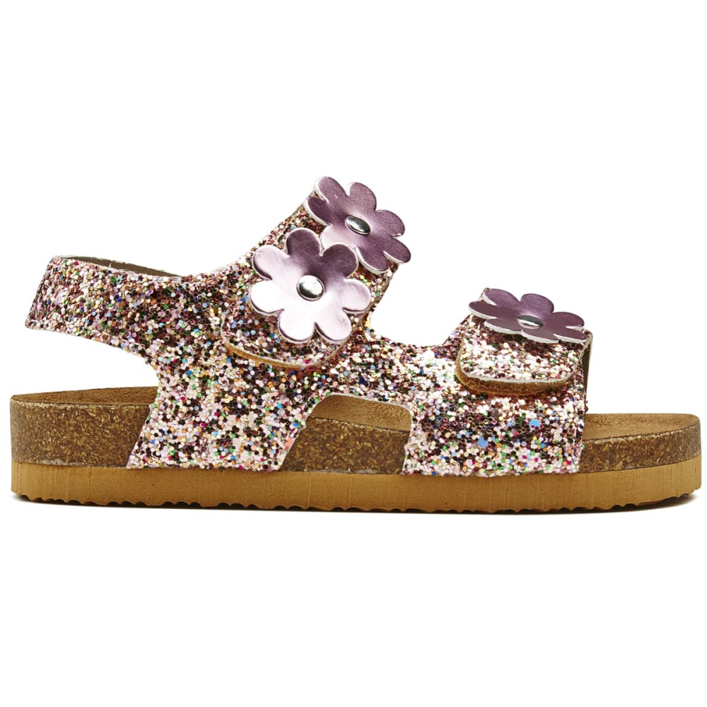 RACHEL SHOES Toddler Girls' Daisy Glitter Sandals - MULTI GLITTER