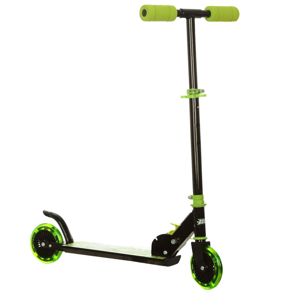 NO FEAR Ignite Scooter - BLACK/GREEN