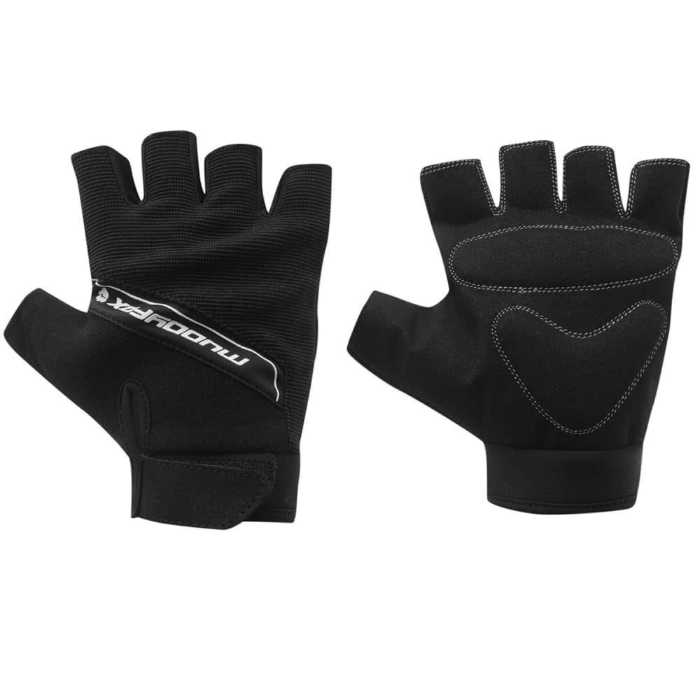 MUDDYFOX Fingerless Cycling Gloves - BLACK