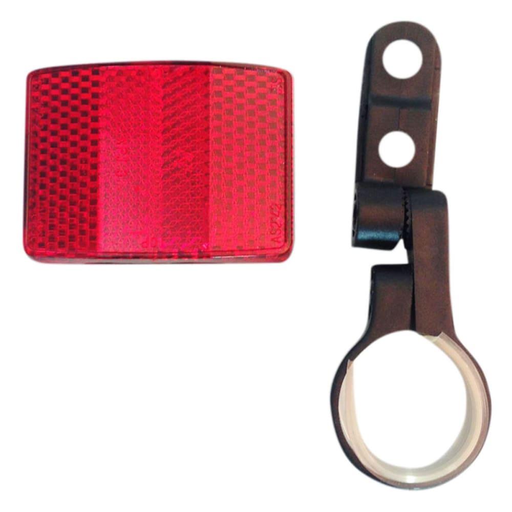 MUDDYFOX Rear Bicycle Reflector - RED