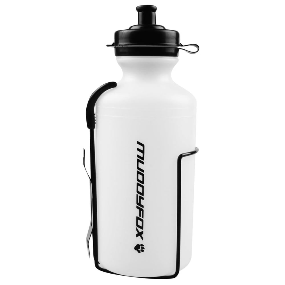 MUDDYFOX Water Bottle and Cage Set ONESIZE
