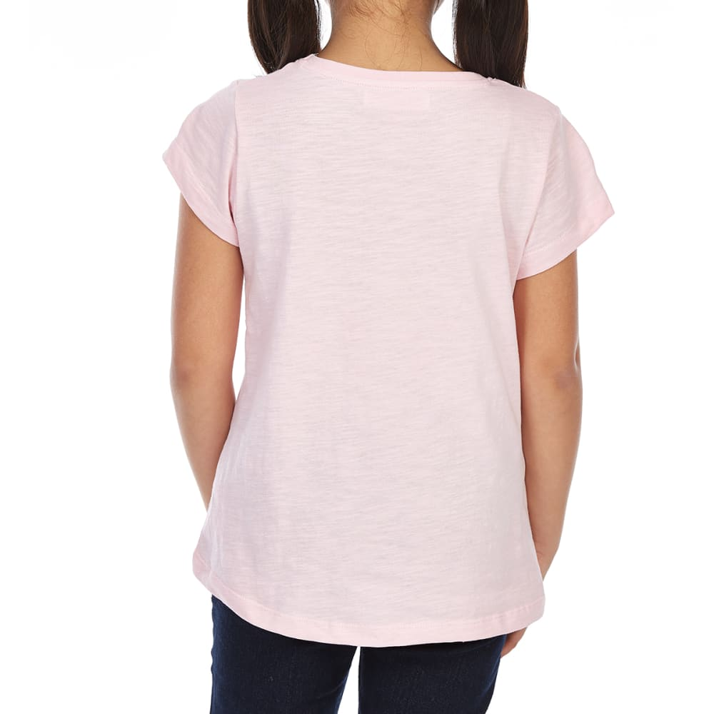 MINOTI Big Girls' Screen Short-Sleeve Tee - GBS8-MERMAIDS PINK