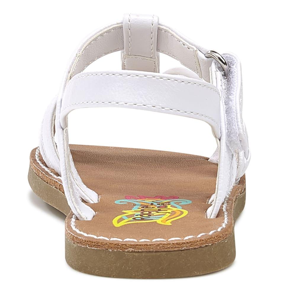 RACHEL SHOES Toddler Girls' Krissy Flower Play Sandals - WHITE