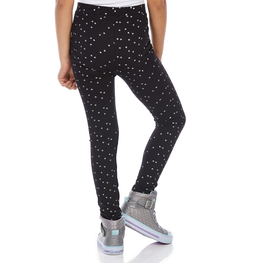 MINOTI Big Girls' Basic Leggings - GBS36-STAR PRINT