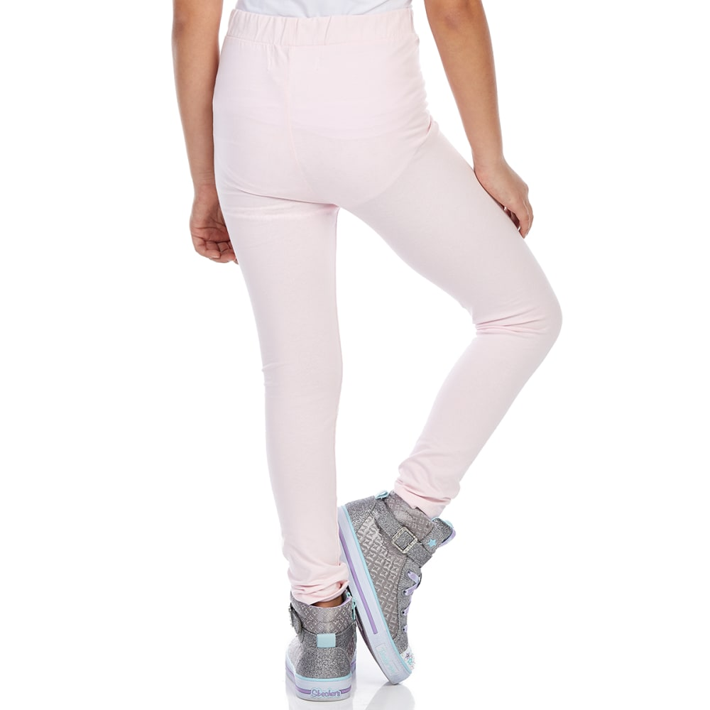MINOTI Big Girls' Basic Leggings - GBS29-ROSE