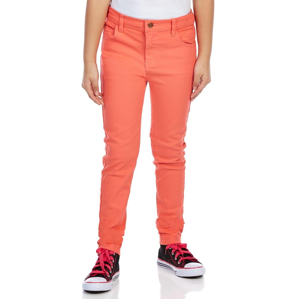 MINOTI Girls' Slub Twill Skinny Pants 9-10