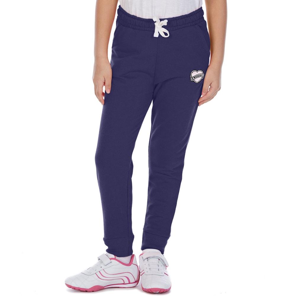 MINOTI Big Girls' Fleece Jogger Pants - GBS27-WEEKEND NAVY