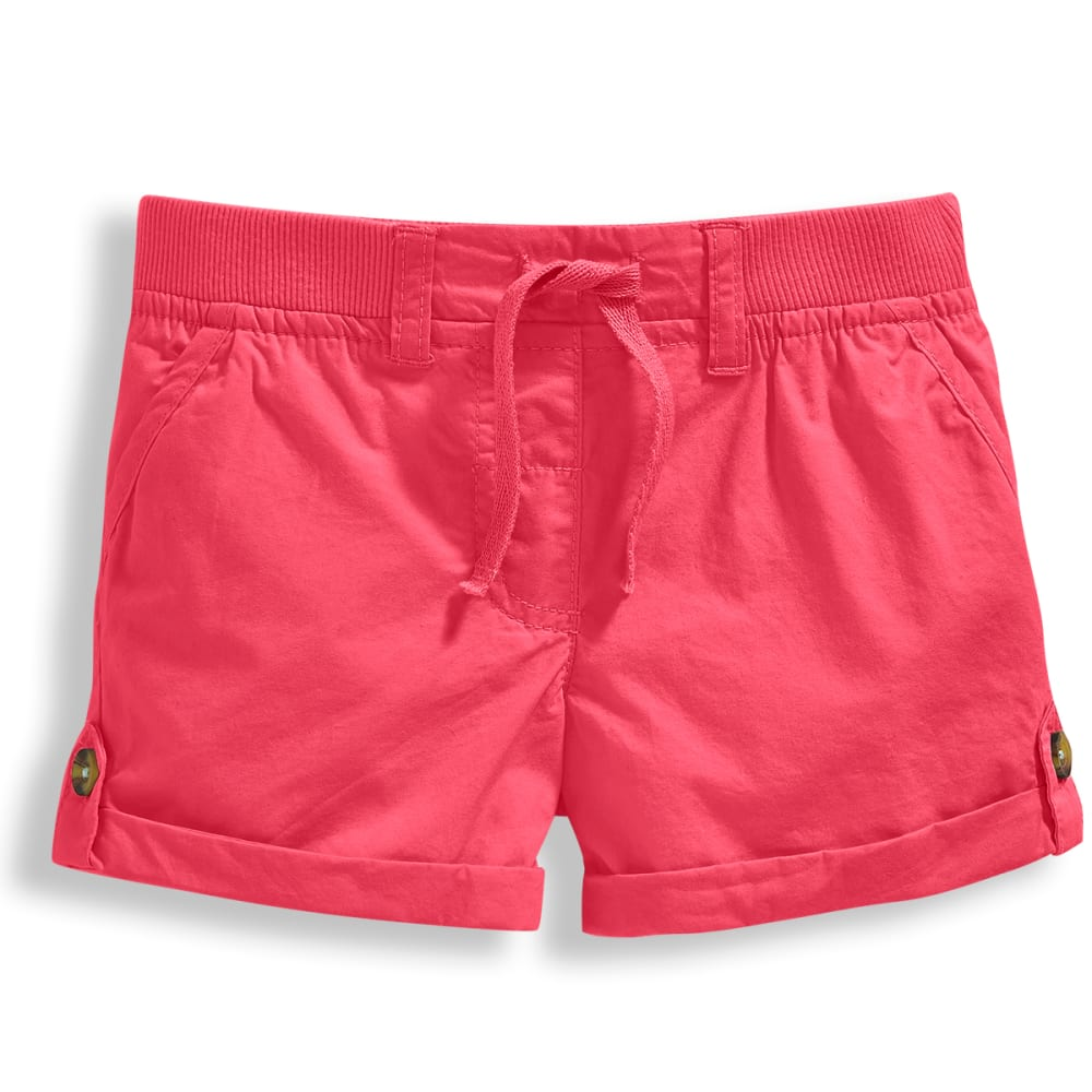 MINOTI Girls' Woven Shorts - GBS51-HOT PINK