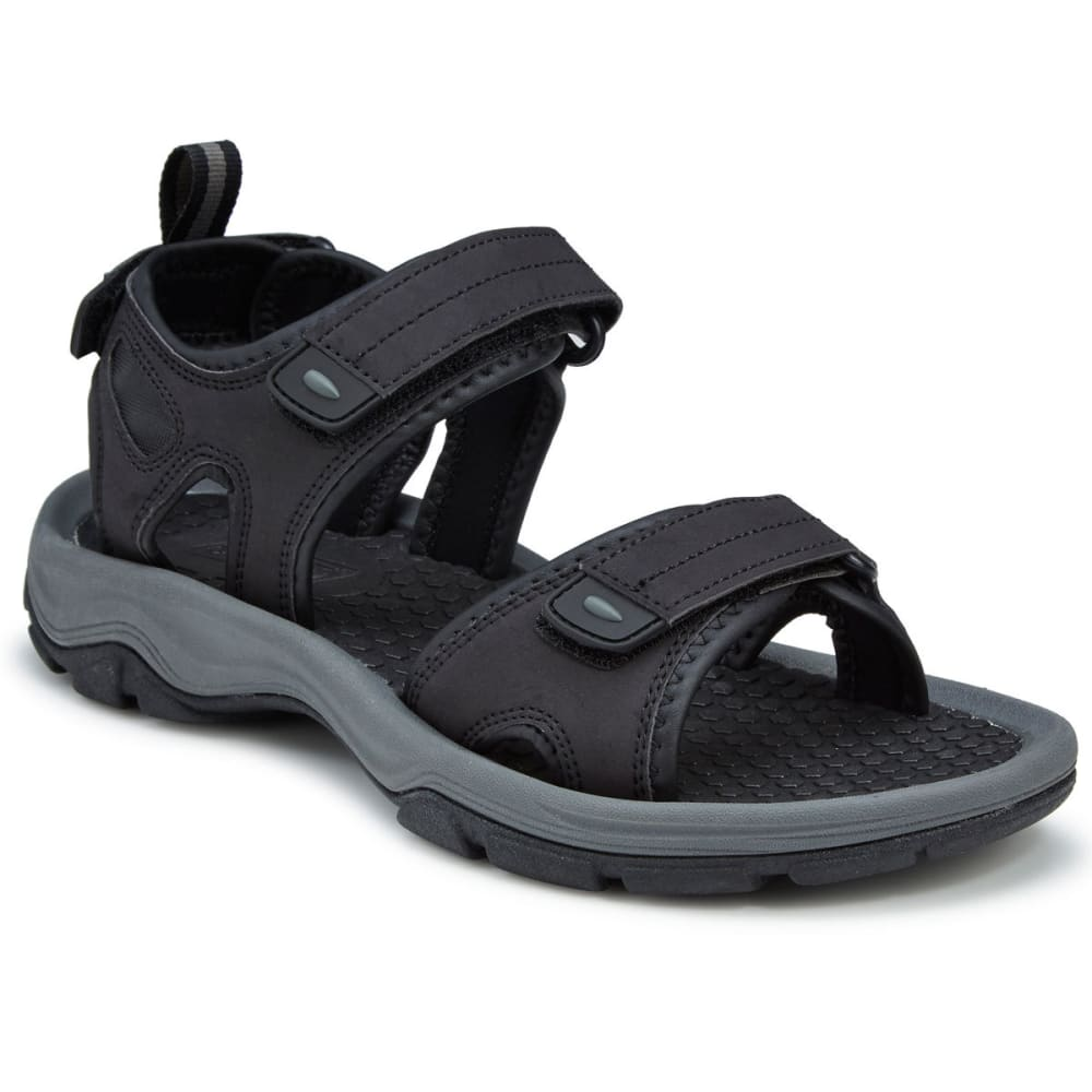 COLEMAN Men's Drift River Sandals - BLK/GRY