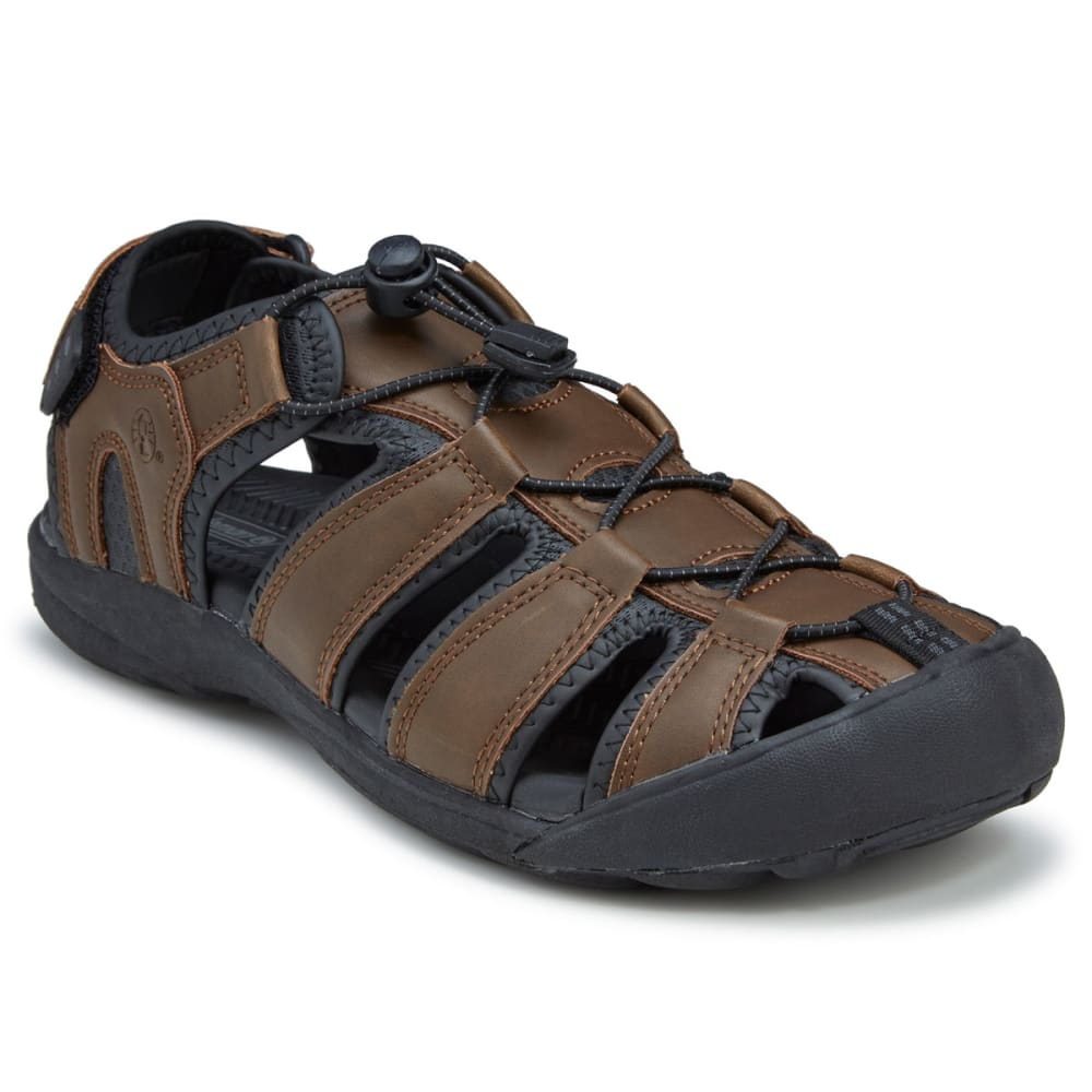 COLEMAN Men's Marabou Fisherman Sandals - BROWN
