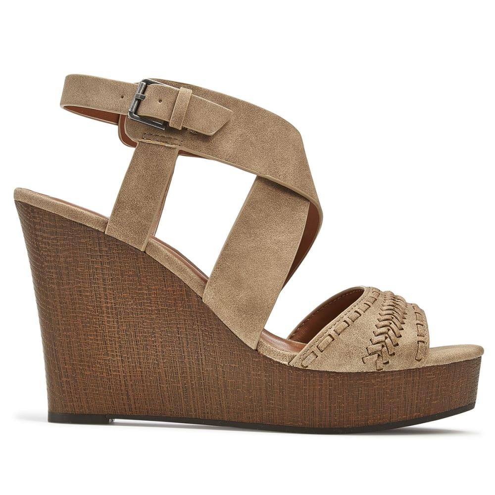 INDIGO RD Women's Kash Wedge Sandals - TAUPE