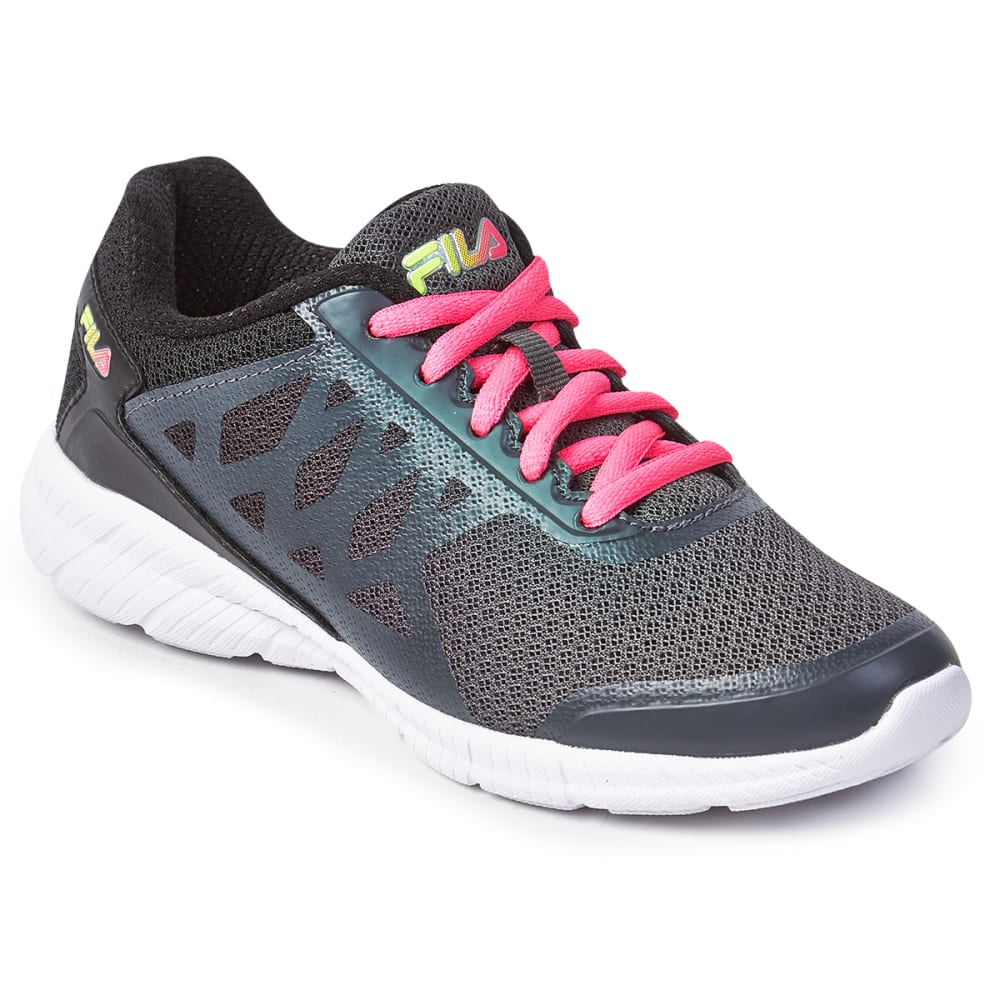 FILA Big Girls' Faction 3 Running Shoes - DARK SHADOW -059