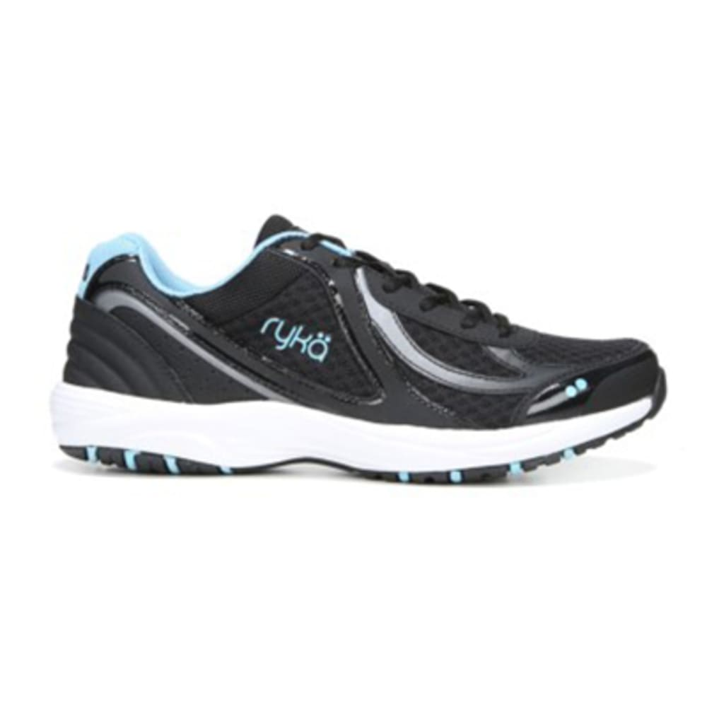 RYKA Women's Dash 3 Walking Shoes, Wide - BLACK-2001 WIDE