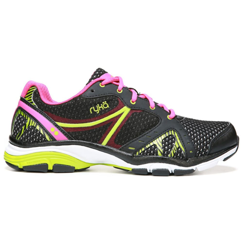 RYKA Women's Vida RZX Cross-Training Shoes - BLACK-4002