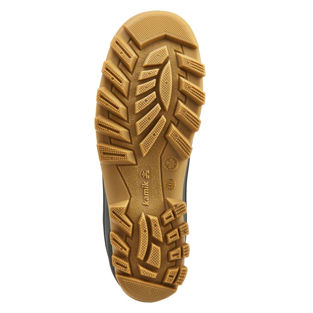 KAMIK Men's Yukon3 Waterproof Low Duck Boots, Dark Brown - DK BRN-DBR