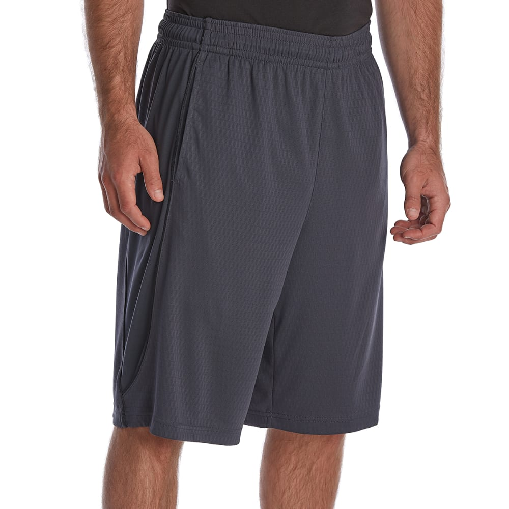 AND1 Men's Ball Hawk Basketball Shorts - EBONY-S744