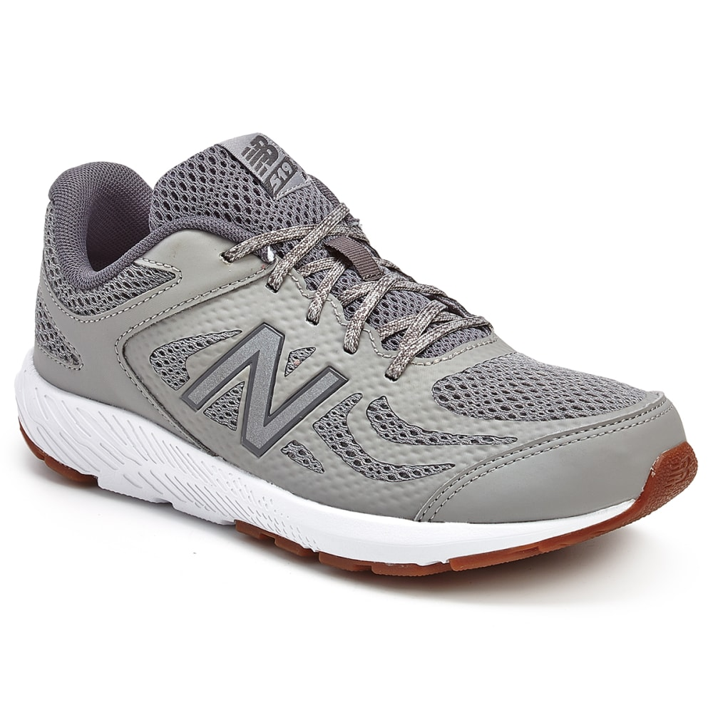 New Balance Big Boys' 519 V1 Running Shoes - Black, 5.5
