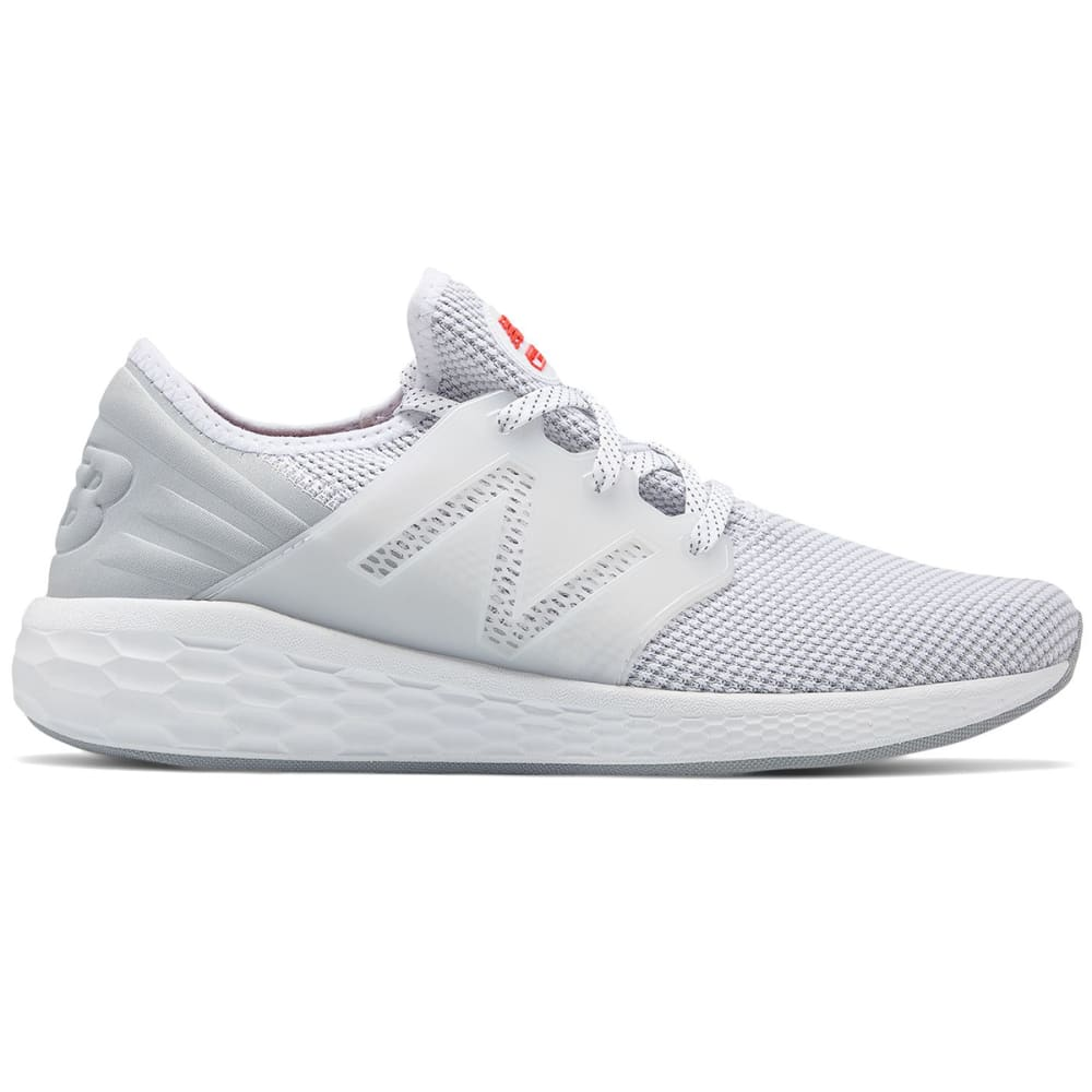 New Balance Men's Fresh Foam Cruz V2 Sport Running Shoes - White, 8