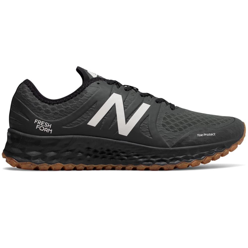 NEW BALANCE Men's Fresh Foam Kaymin TRL Trail Running Shoes - BLACK
