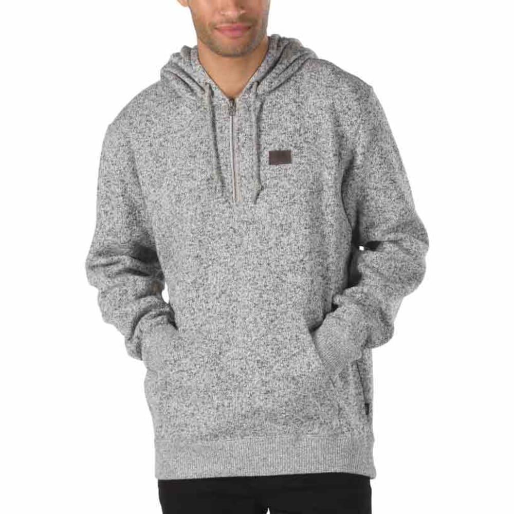 VANS Guys' Flurry ½-Zip Pullover - 99P-LUNAR ROCK HTR