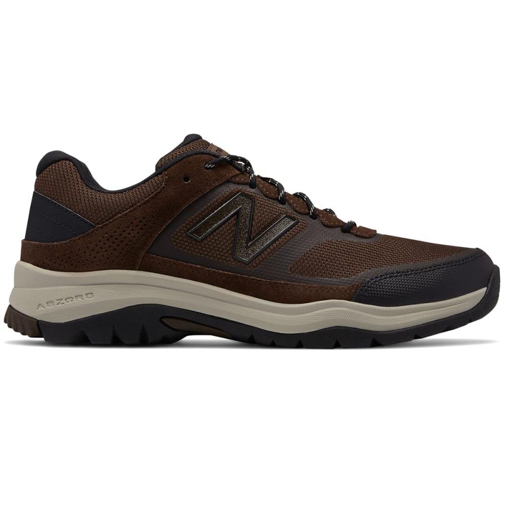 New Balance Men's 669 V1 Walking Shoes, Wide - Brown, 8