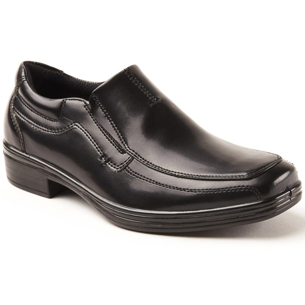 Deer Stags Big Boys' Wise Slip-On Dress Shoes - Black, 12