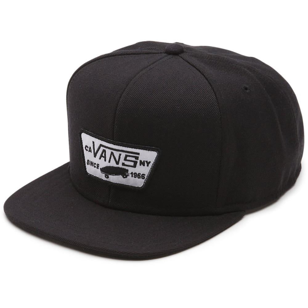 VANS Guys' Full Patch Snapback Cap - 9RJ-TRUE BLACK