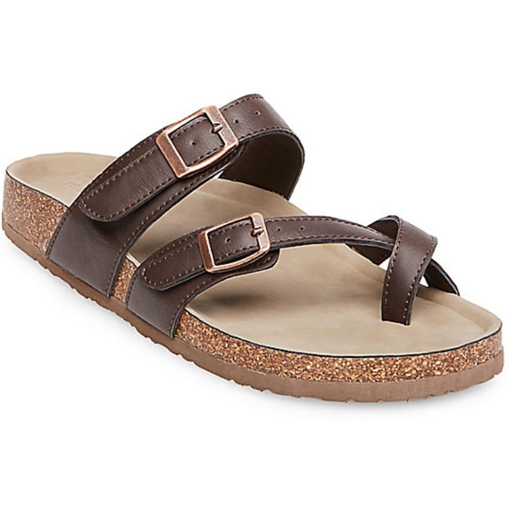 MADDEN GIRL Women's Brycee Toe Thong Sandals 6