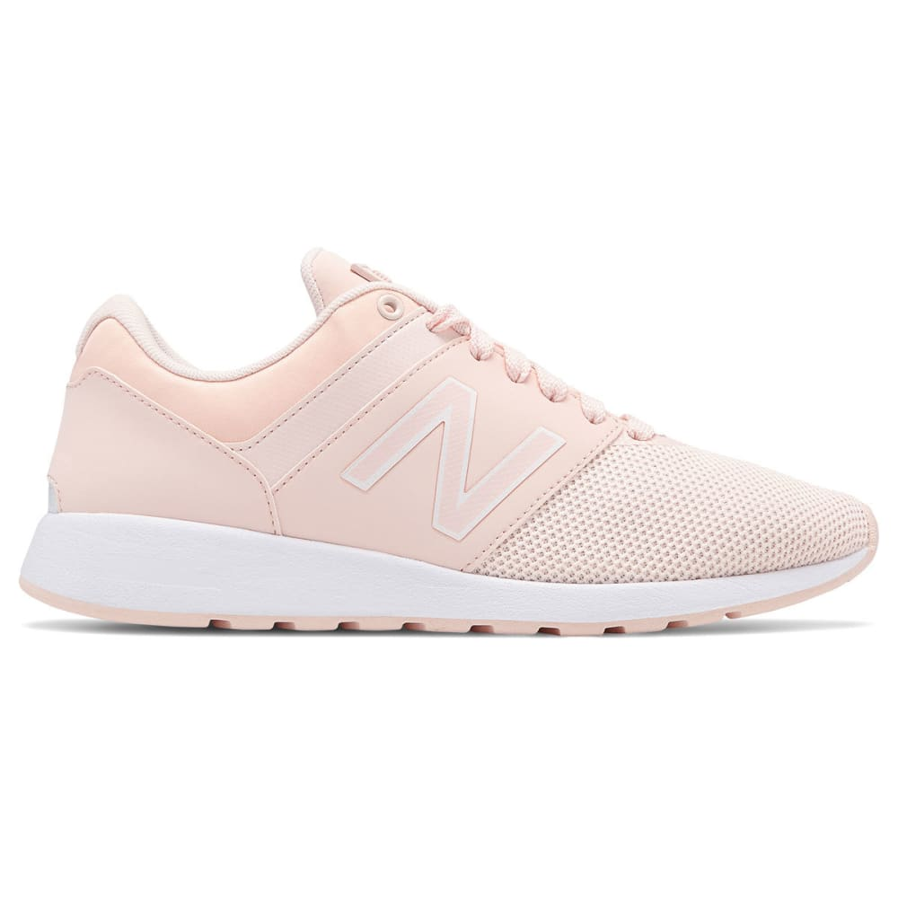 New Balance Women's 24 Textile Sneakers - Red, 6