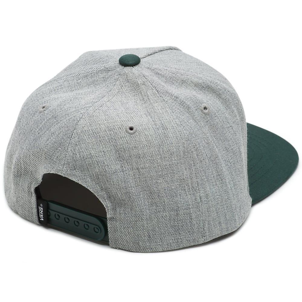 VANS Big Boys' Drop V II Snapback Hat - BLACK/KHAKI