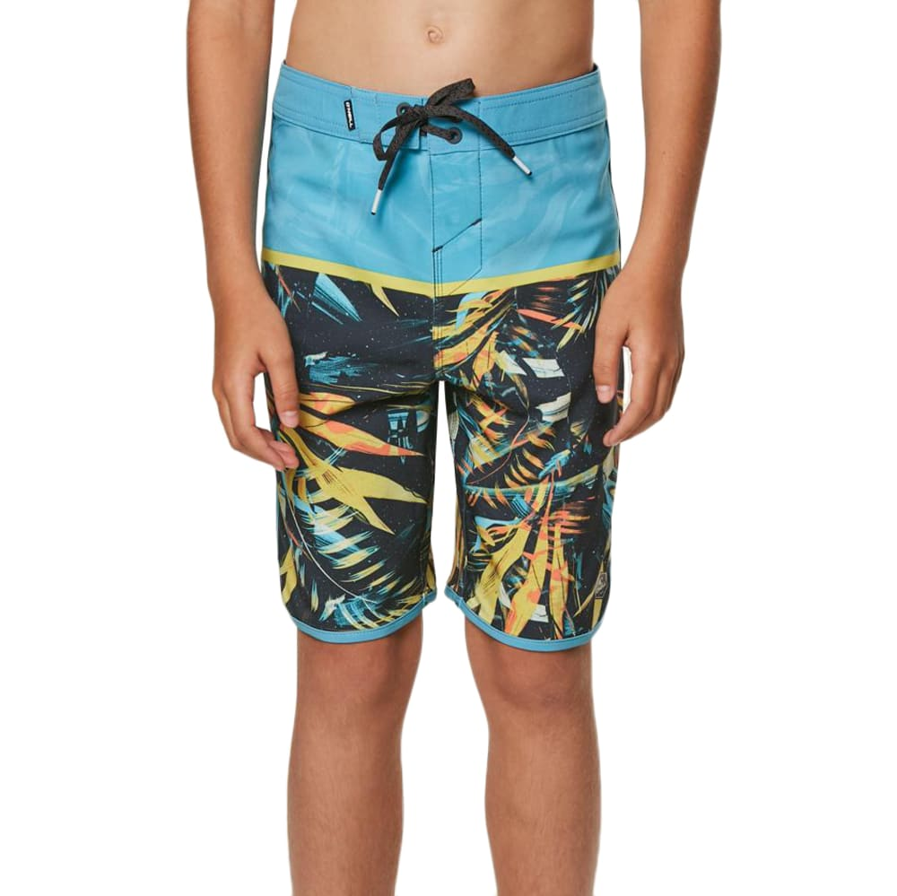 O'neill Big Boys' Hyperfreak Ruins Boardshorts - Blue, 24