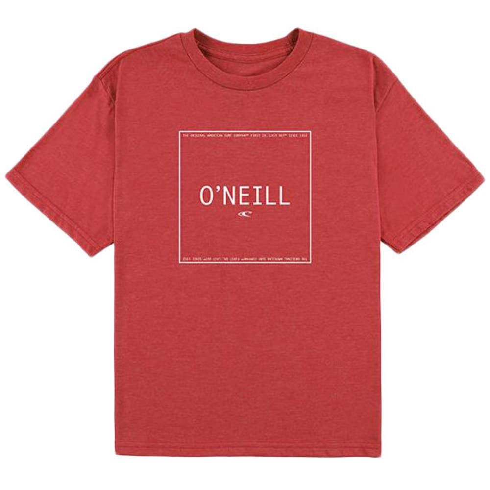 O'NEILL Big Boys' TM Short-Sleeve Tee - RED-RED