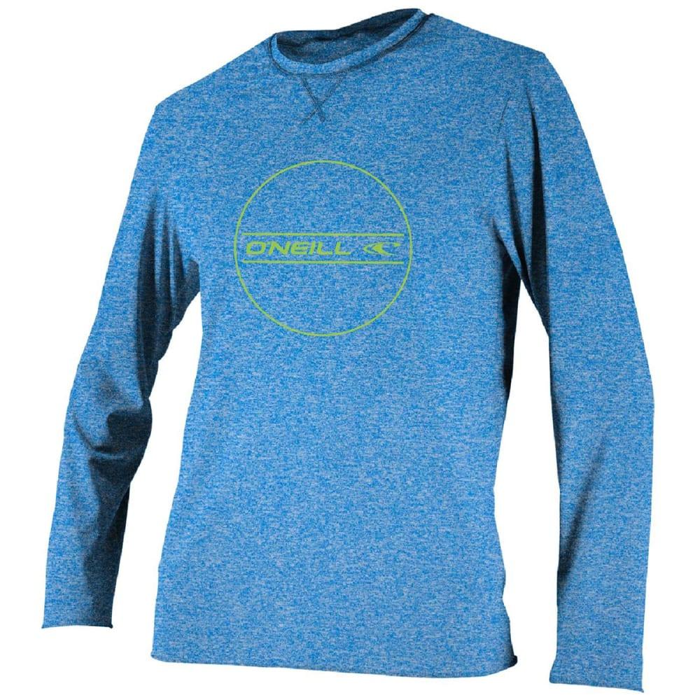 O'neill Boys' Hybrid Long-Sleeve Sun Shirt - Blue, 10