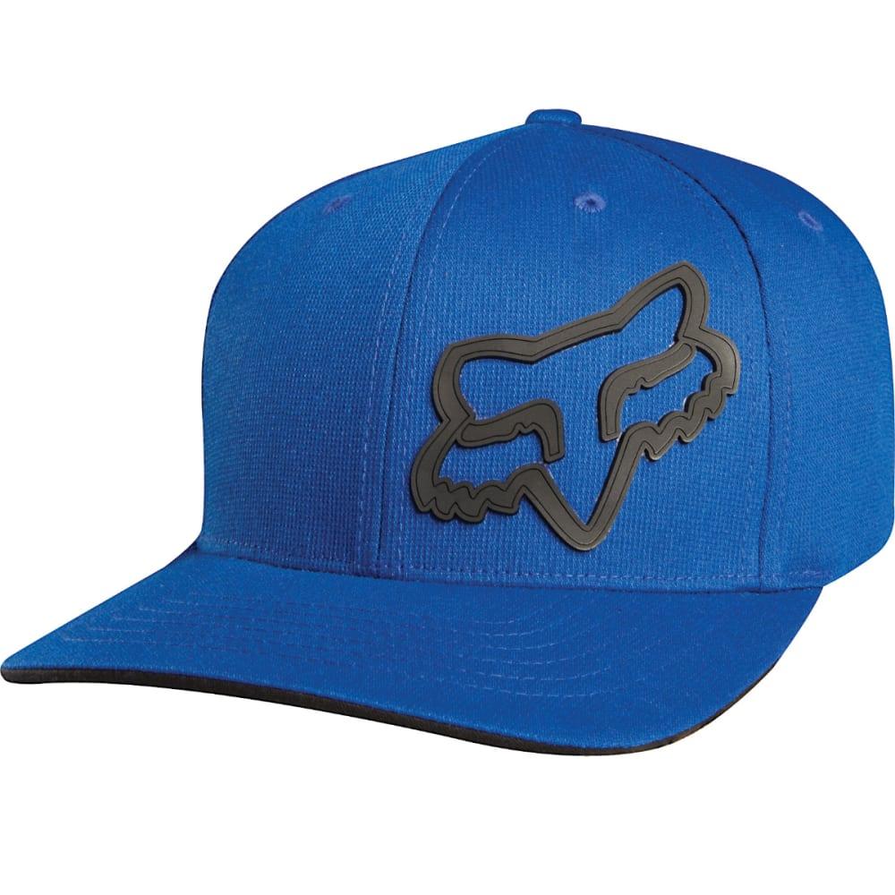 FOX RACING Big Boys' Signature Flexfit Cap - 002-BLUE