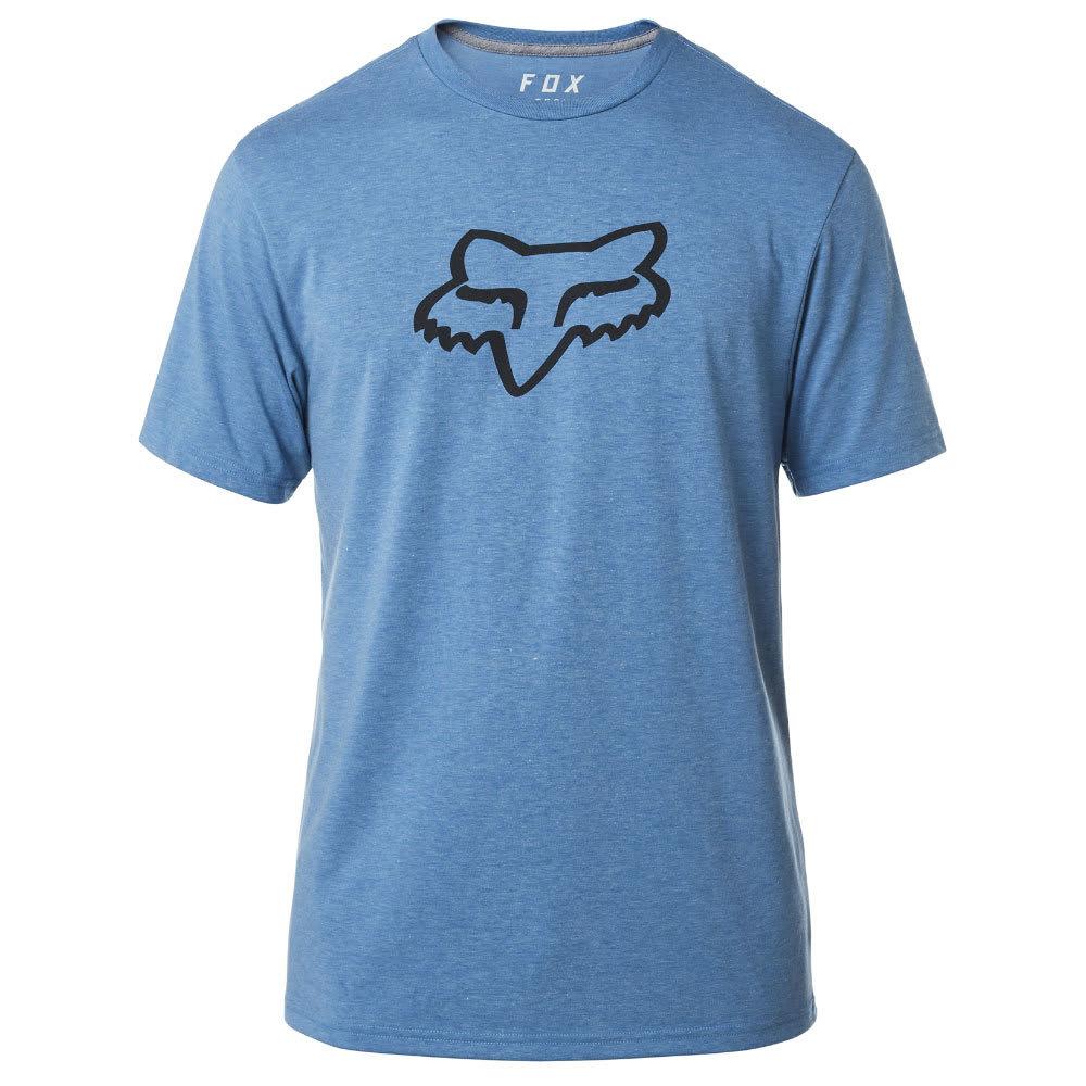 FOX Guys' Tournament Tech Tee - 522-HEATHER BLUE