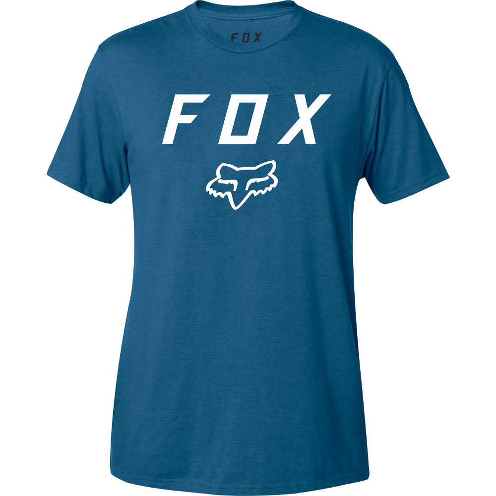FOX Guys' Legacy Moth Tee - 157-DUSTY BLUE