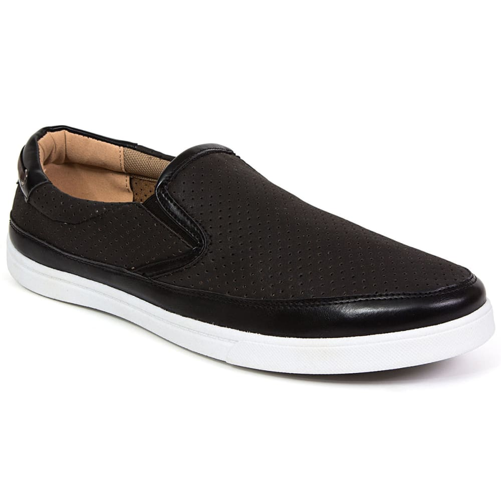 DEER STAGS Men's Harrison Casual Slip-On Shoes - BLACK