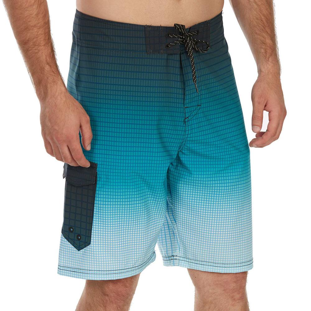 OCEAN CURRENT Guys' Grinder Boardshorts - BLUE