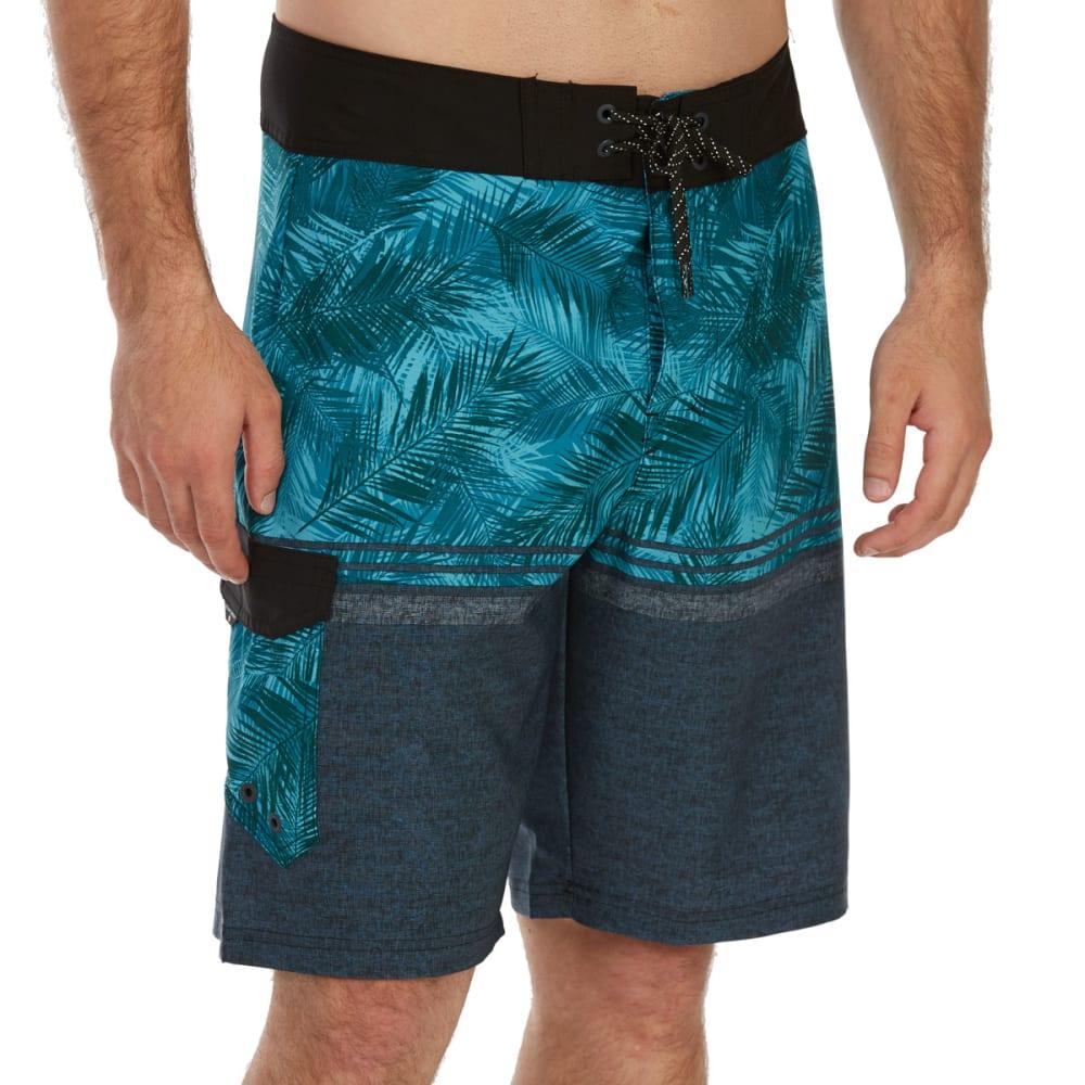 OCEAN CURRENT Guys' Panama Boardshorts - TEAL