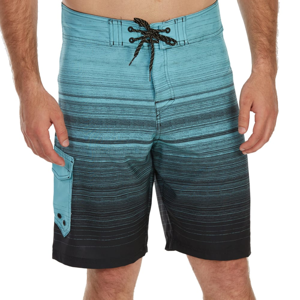 OCEAN CURRENT Guys' Waiver Boardshorts - BLUE
