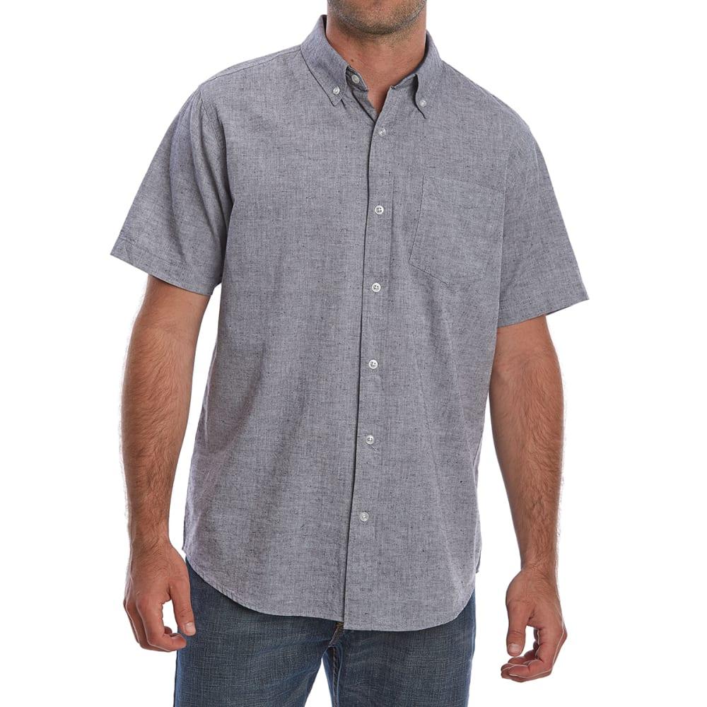 OCEAN CURRENT Guys' Macaw Poplin Short-Sleeve Shirt S