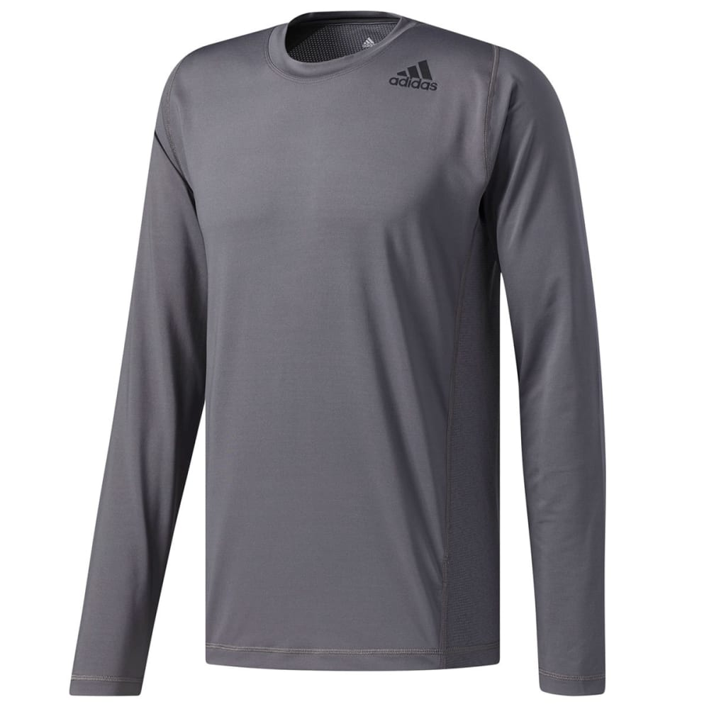 Adidas Men's U-Tec Long-Sleeve Tee - Black, XL