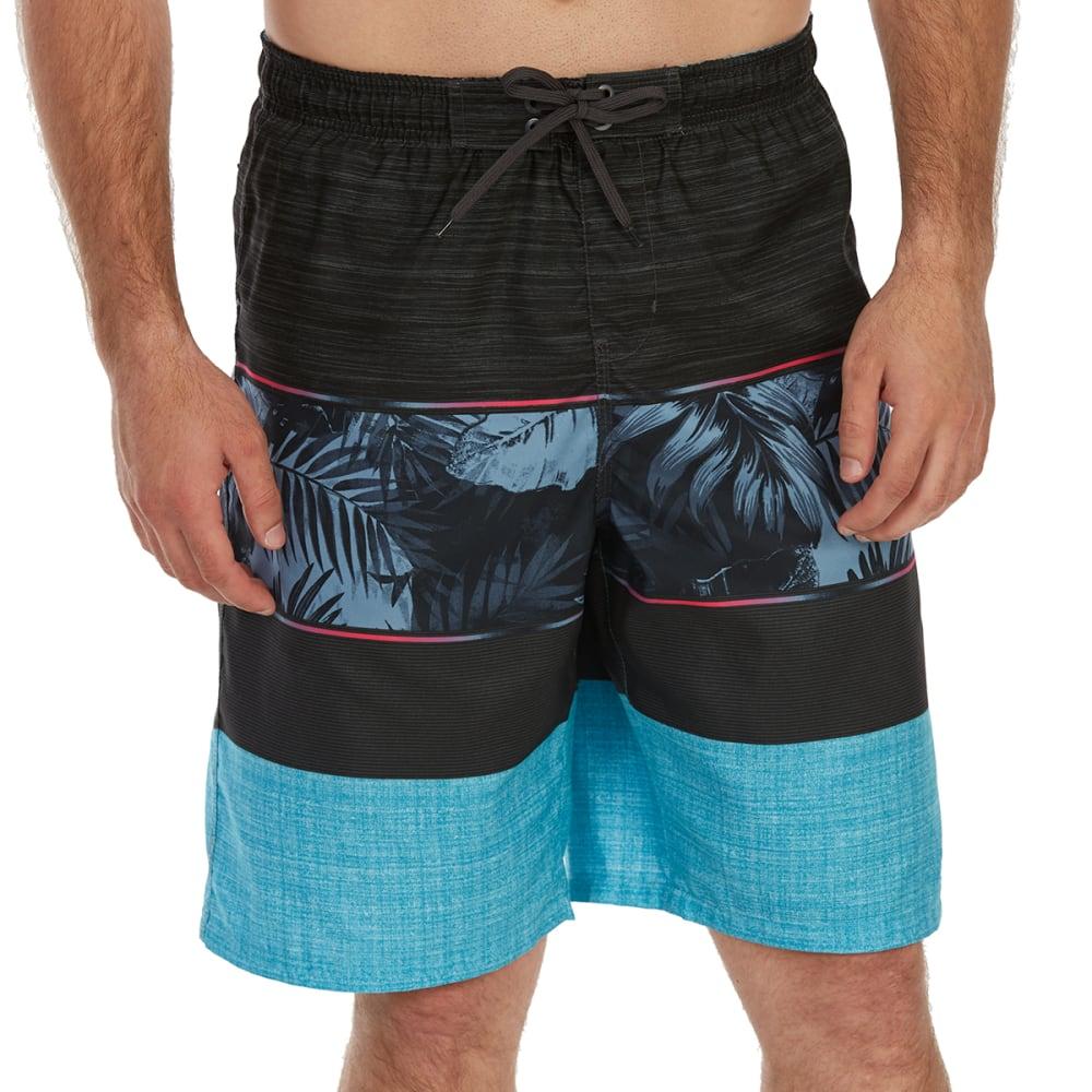 BURNSIDE Guys' Waikoloa E-Board Shorts - BLUE
