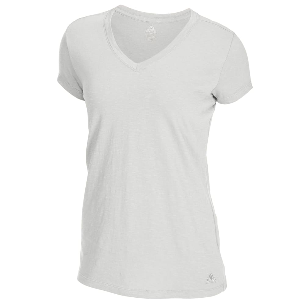 EMS Women's Organic Slub V-Neck Short-Sleeve Tee S