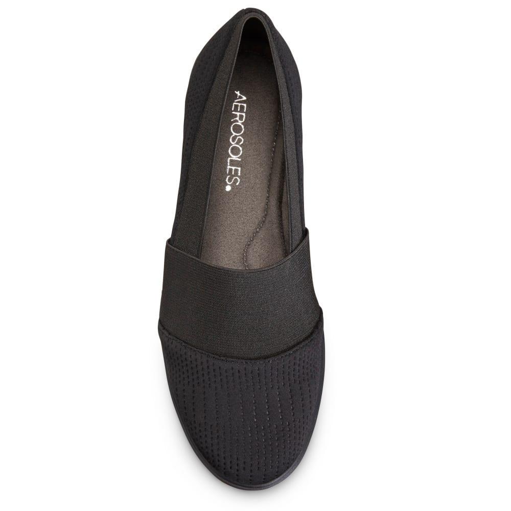 AEROSOLES Women's Elimental Casual Slip-On Shoes - BLACK-095