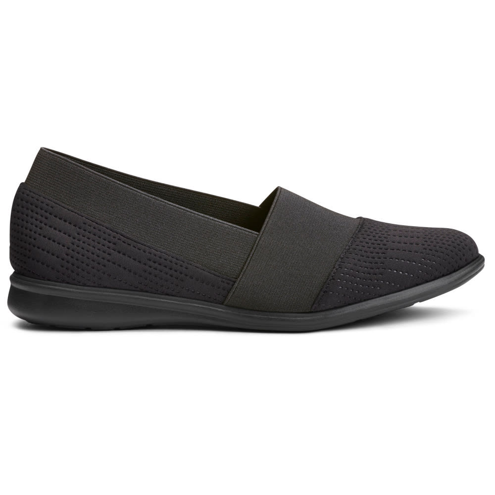 Aerosoles Women's Elimental Casual Slip-On Shoes - Black, 5