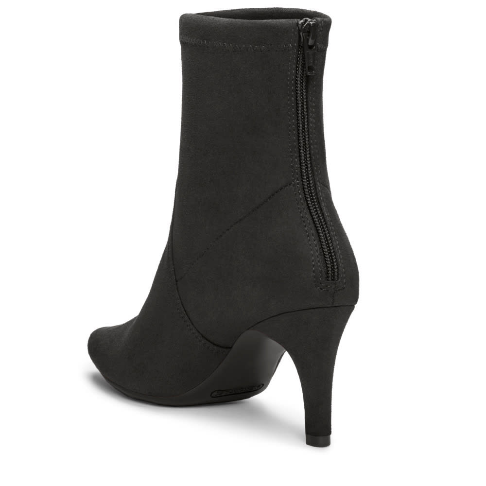 AEROSOLES Women's Excess Ankle Boots - BLACK FABRIC-095