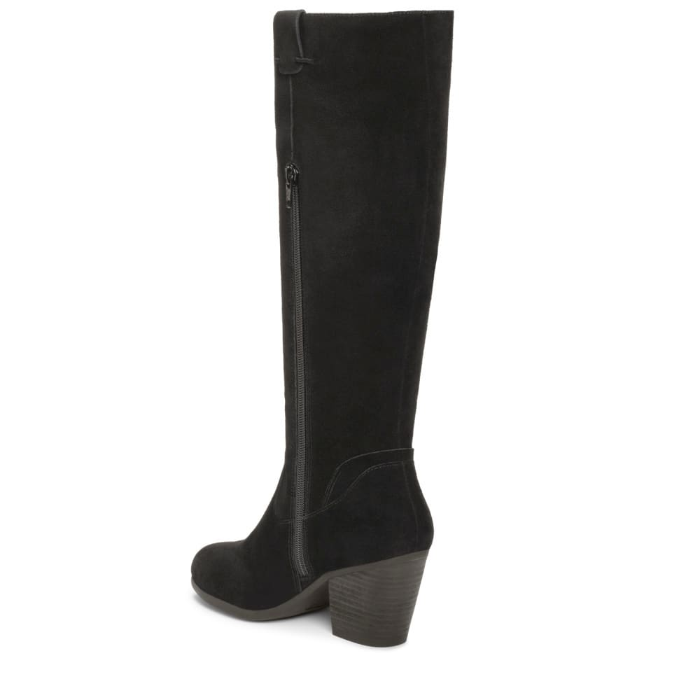 AEROSOLES Women's Festivities Tall Boots - BLACK-004