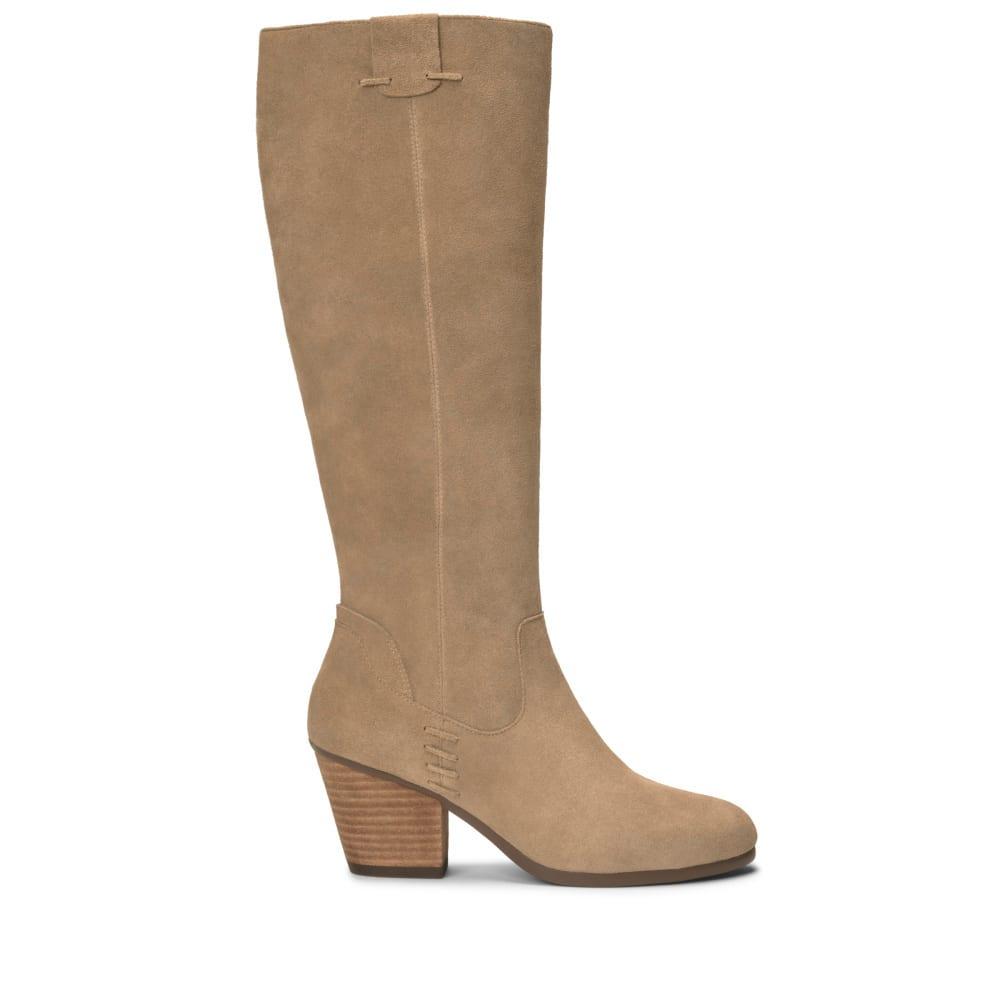 AEROSOLES Women's Festivities Tall Boots - TAUPE-298