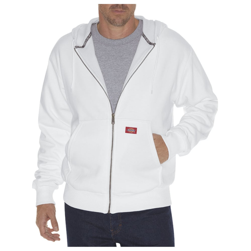 DICKIES Men's Thermal Lined Fleece Hoodie, Extended Sizes - ASH GRAY-AG
